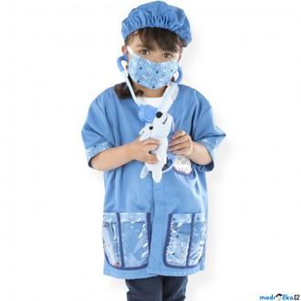 Ostatní hračky - Kostým dětský - Veterinář komplet (M&D)