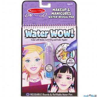 Ostatní hračky - Omalovánky - Kouzlení vodou, Makeup (M&D)