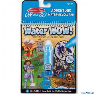 Ostatní hračky - Omalovánky - Kouzlení vodou, Dobrodružství (M&D)