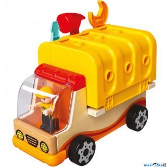 Stavebnice - Auto montážní - Multifunkční auto s nářadím (Mertens)