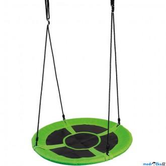 Na ven a sport - Houpačka - Houpací kruh, zelený, průměr 100cm (Bino)