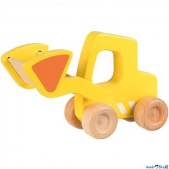 Dřevěné hračky - Auto - Bagr dřevěné (Goki)