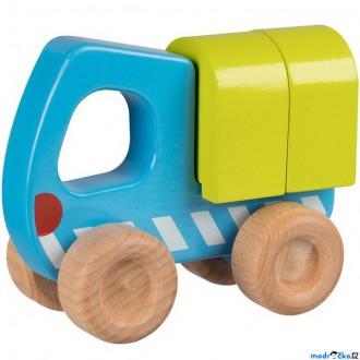 Dřevěné hračky - Auto - Náklaďák dřevěné (Goki)