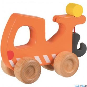 Dřevěné hračky - Auto - Odtahový vůz dřevěné (Goki)