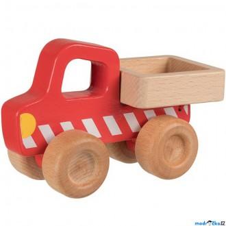 Dřevěné hračky - Auto - Náklaďák se sklápěcí korbou dřevěné (Goki)