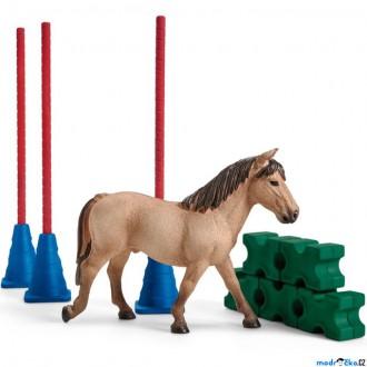 Ostatní hračky - Schleich - Jezdecký klub, Slalom pro poníky