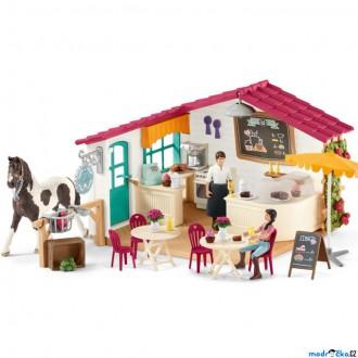 Ostatní hračky - Schleich - Jezdecký klub, Kavárna pro jezdce