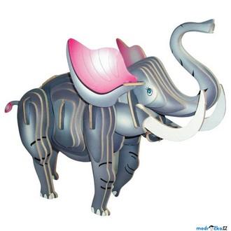 Puzzle a hlavolamy - 3D Puzzle barevné - Slon