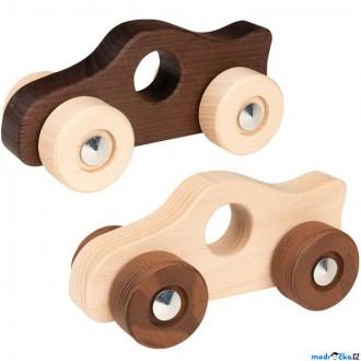 Pro nejmenší - Auto - Závodní Eko Nature dřevěné, 1ks (Goki)