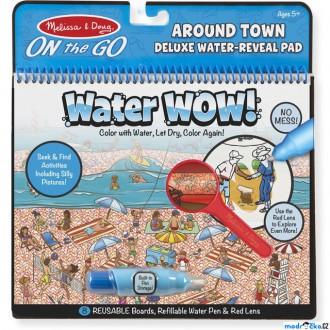 Ostatní hračky - Omalovánky - Kouzlení vodou Deluxe, Kolem města (M&D)