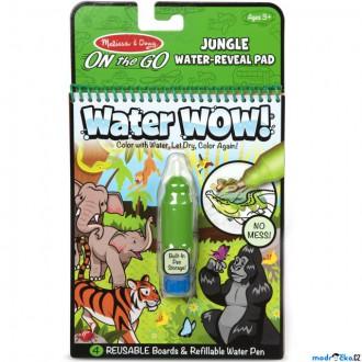 Ostatní hračky - Omalovánky - Kouzlení vodou, Džungle (M&D)
