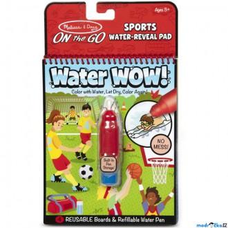 Ostatní hračky - Omalovánky - Kouzlení vodou, Sporty (M&D)