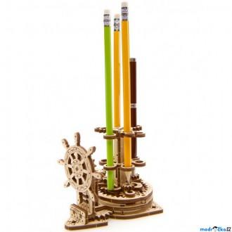 Stavebnice - 3D mechanický model - Organizér na psací potřeby (Ugears)