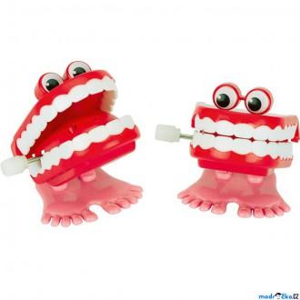 Dřevěné hračky - Drobné hračky - Natahovací klapající zuby (Goki)