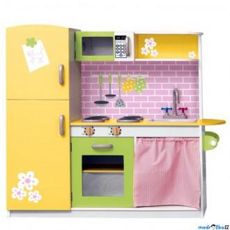 Dřevěné hračky - Kuchyň - Kuchyňská linka Lily (Woody)