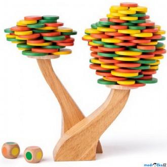 Dřevěné hračky - Motorická hra - Balanční strom (Woody)