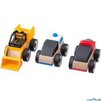 Dřevěné hračky - Auto - Sada 3 autíček LILLABO (Ikea)