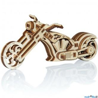Stavebnice - 3D mechanický model - Widget, Chopper (Wooden City)
