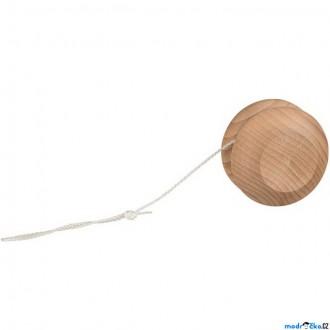 Dřevěné hračky - Drobné hračky - Jojo dřevěné, přírodní (Goki)