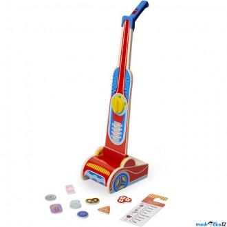 Dřevěné hračky - Hospodyňka - Dětský dřevěný vysavač (M&D)