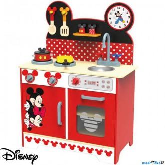 Dřevěné hračky - Kuchyň - Dětská kuchyňka dřevěná XL Mickey a Minnie (Disney Derrson)