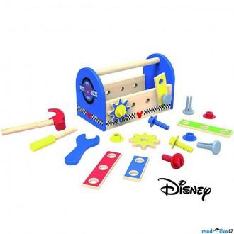 Dřevěné hračky - Malý kutil - Mickeyho dřevěné nářadí v boxu (Disney Derrson)