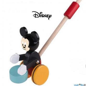 Dřevěné hračky - Jezdík na tyči - Mickey Mouse dřevěný (Disney Derrson)