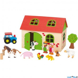 Dřevěné hračky - Farma dřevěná - Můj malý statek (Goki)