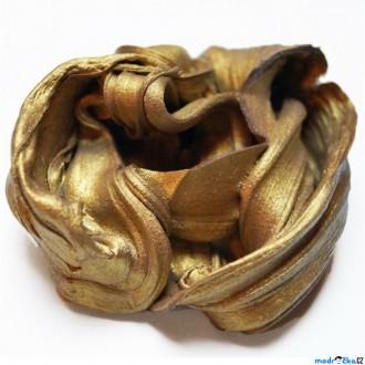 Ostatní hračky - Inteligentní plastelína - supermagnetická, Zlatá