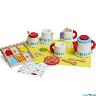 Dřevěné hračky - Kuchyň - Dřevěný snídaňový set (M&D)