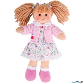 Ostatní hračky - Panenka hadrová - 28cm, Poppy (Bigjigs)