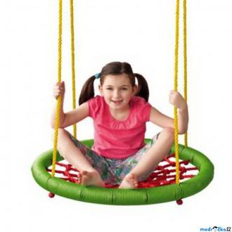 Na ven a sport - Houpačka - Houpací kruh, zelený, průměr 83cm (Woody)