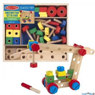 Stavebnice - Stavebnice montážní - Konstruktér, 48 dílů (M&D)