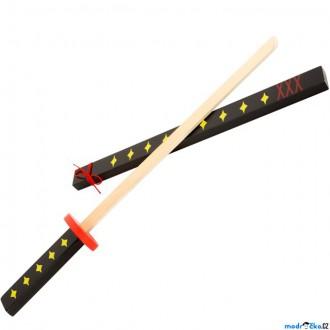 Dřevěné hračky - Dětská zbraň - Japonský dřevěný meč Katana (Legler)