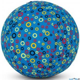 Pro nejmenší - BubaBloon - Látkový nafukovací míč, Modrý