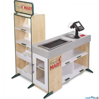 Dřevěné hračky - Prodejna - Dřevěný potravinový obchod (M&D)