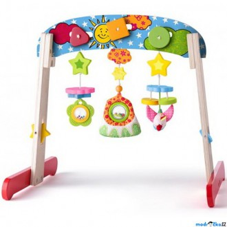 Pro nejmenší - Hrazdička - Dřevěná hrazda pro miminka (Niny)