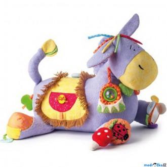 Pro nejmenší - Hračka pro batolata - Oslík LAKI multiaktivní hračka (Niny)