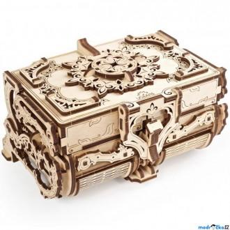Stavebnice - 3D mechanický model - Šperkovnice starožitná (Ugears)