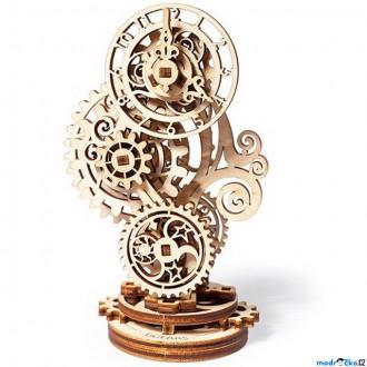 Stavebnice - 3D mechanický model - Steampunk hodiny (Ugears)
