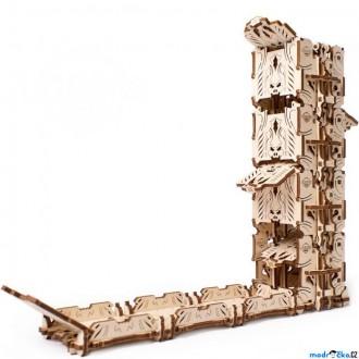 Stavebnice - 3D mechanický model - Games, Dice Tower (Ugears)