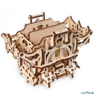 Stavebnice - 3D mechanický model - Games, Deck Box (Ugears)