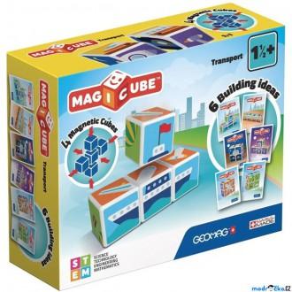 Stavebnice - Geomag - Magicube, Doprava 4 kostky