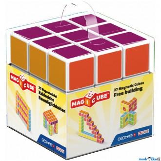Stavebnice - Geomag - Magicube, Free building 27 kostek
