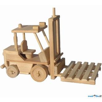 Dřevěné hračky - Ceeda Cavity - Vysokozdvižný vozík