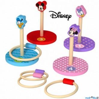 Na ven a sport - Hra s kroužky - Dřevěná házecí hra (Disney Derrson)