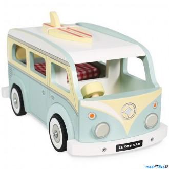 Dřevěné hračky - Auto - Dřevěný autokaravan (Le Toy Van)
