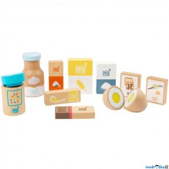 Dřevěné hračky - Dekorace prodejny - Sada přísad na pečení (Legler)