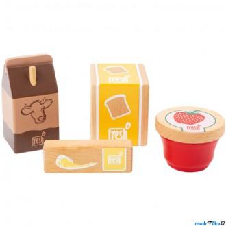 Dřevěné hračky - Dekorace prodejny - Snídaňový set Fresh (Legler)
