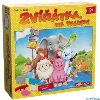Ostatní hračky - Společenská hra - Zvířátka na palubu!